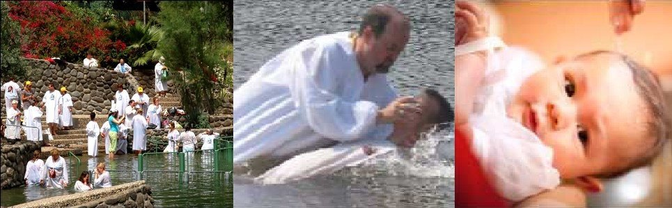 Baptism of a believer